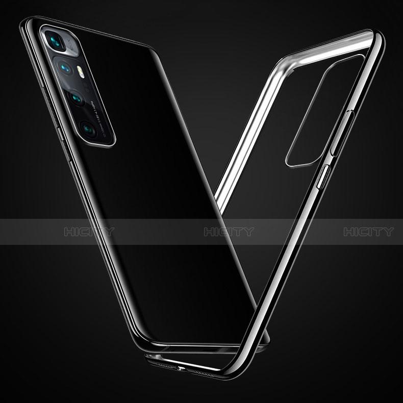 Custodia Silicone Trasparente Ultra Sottile Cover Morbida H03 per Xiaomi Mi 10 Ultra