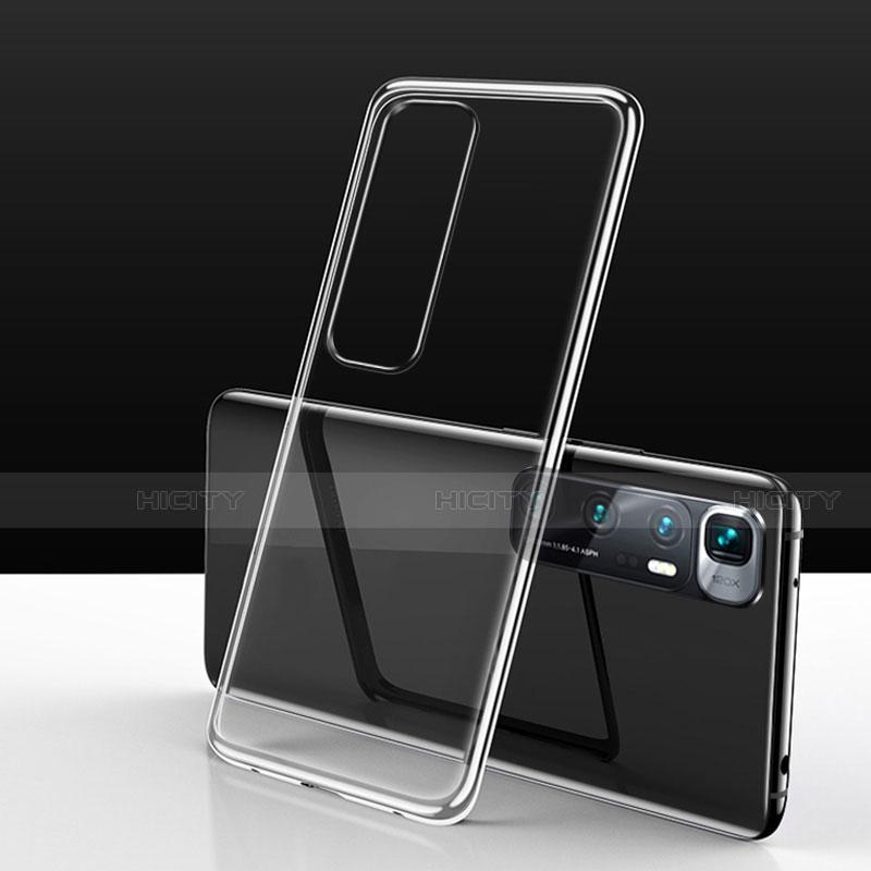 Custodia Silicone Trasparente Ultra Sottile Cover Morbida H03 per Xiaomi Mi 10 Ultra Chiaro