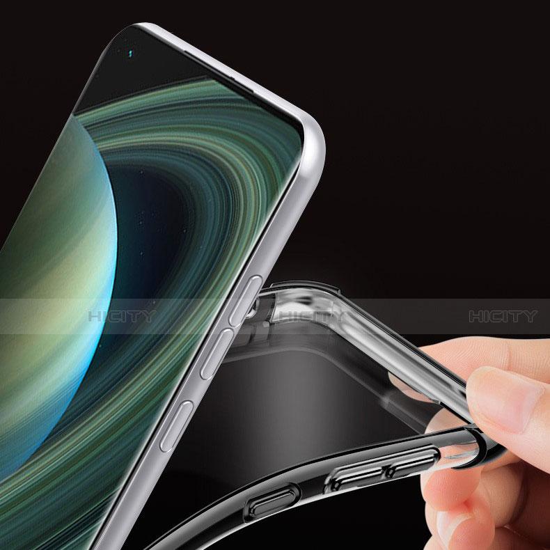 Custodia Silicone Trasparente Ultra Sottile Cover Morbida H04 per Xiaomi Mi 10 Ultra