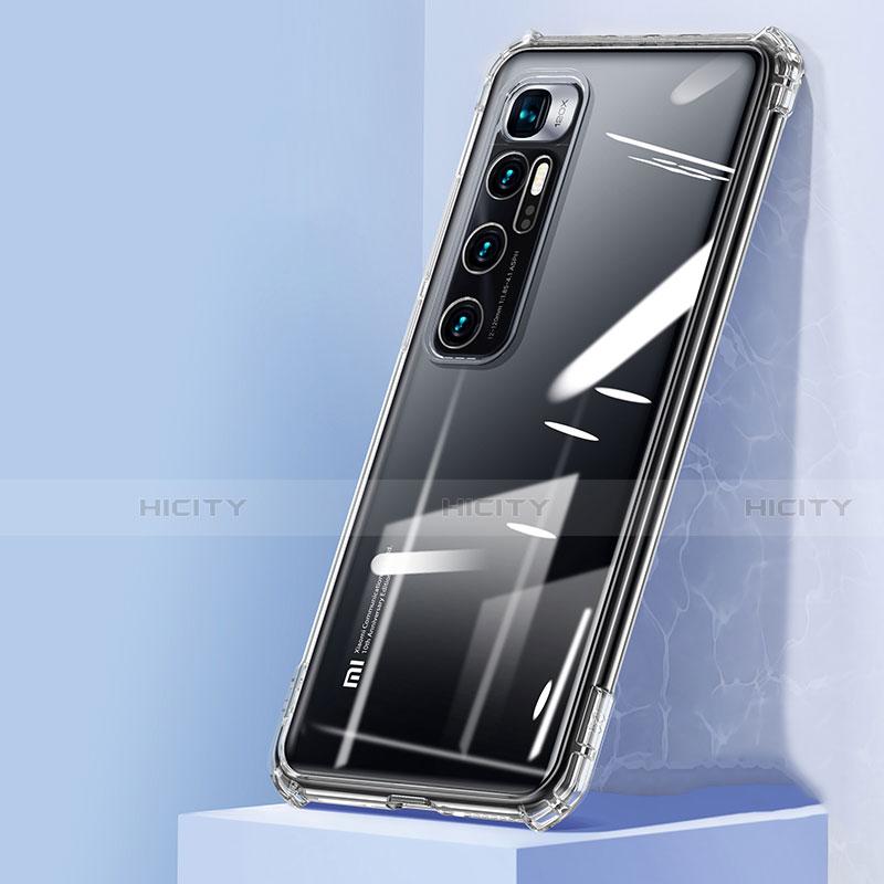 Custodia Silicone Trasparente Ultra Sottile Cover Morbida H05 per Xiaomi Mi 10 Ultra