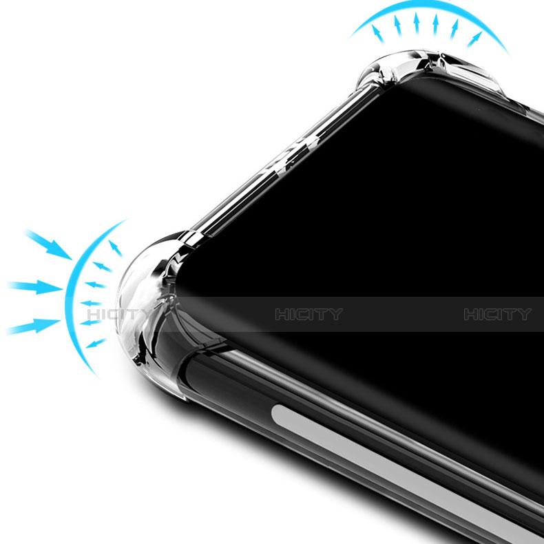 Custodia Silicone Trasparente Ultra Sottile Morbida T02 per Huawei Nova 5 Pro Chiaro