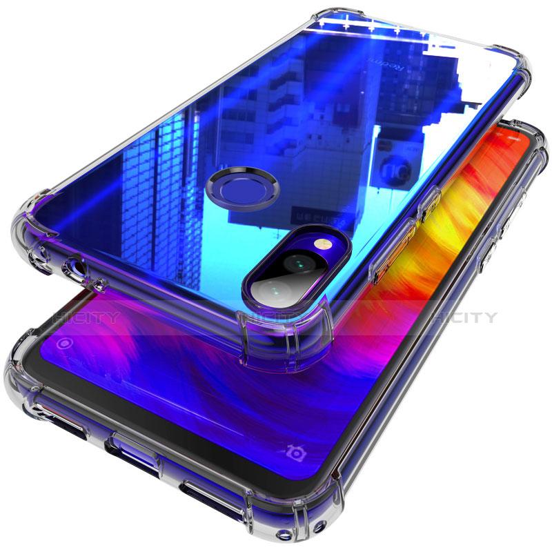 Custodia Silicone Trasparente Ultra Sottile Morbida T06 per Xiaomi Redmi Note 7 Chiaro