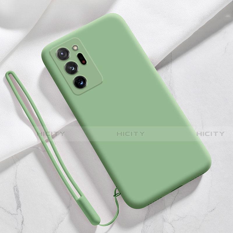 Custodia Silicone Ultra Sottile Morbida 360 Gradi Cover N03 per Samsung Galaxy Note 20 Ultra 5G