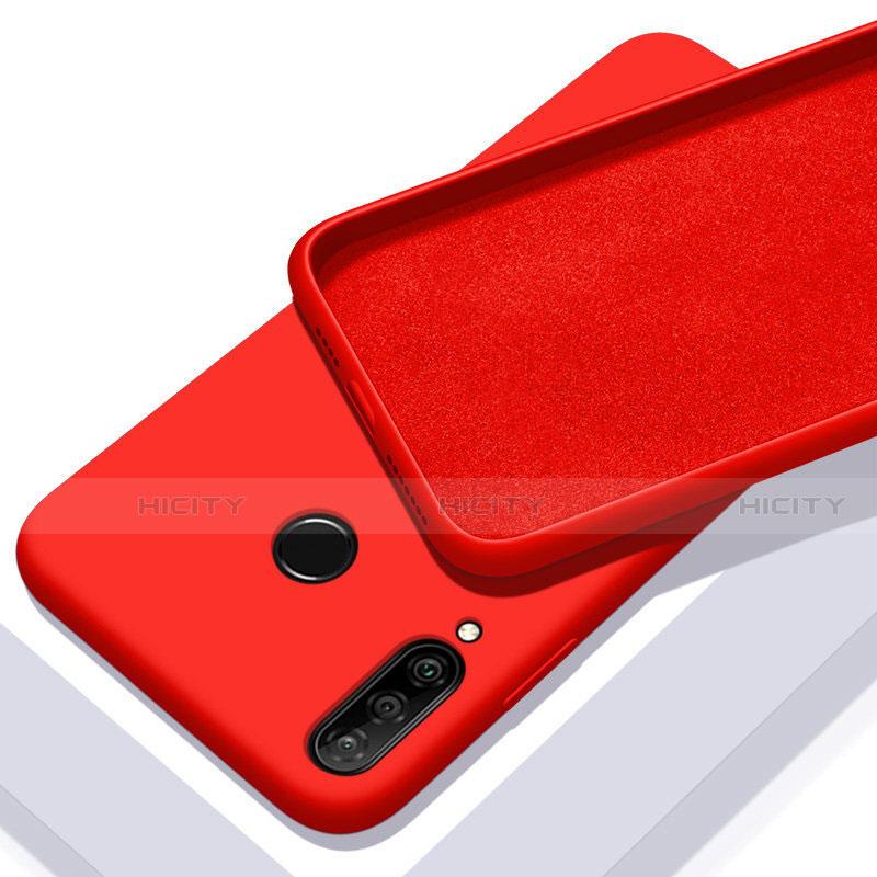 Custodia Silicone Ultra Sottile Morbida 360 Gradi Cover per Huawei Honor 20 Lite Rosso