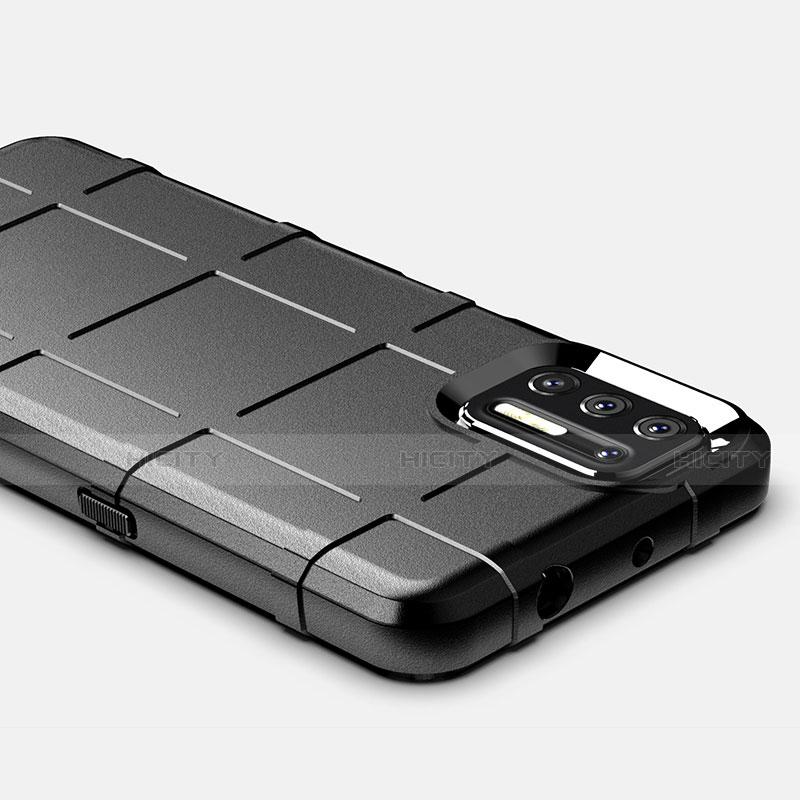 Custodia Silicone Ultra Sottile Morbida 360 Gradi Cover per Motorola Moto G9 Plus