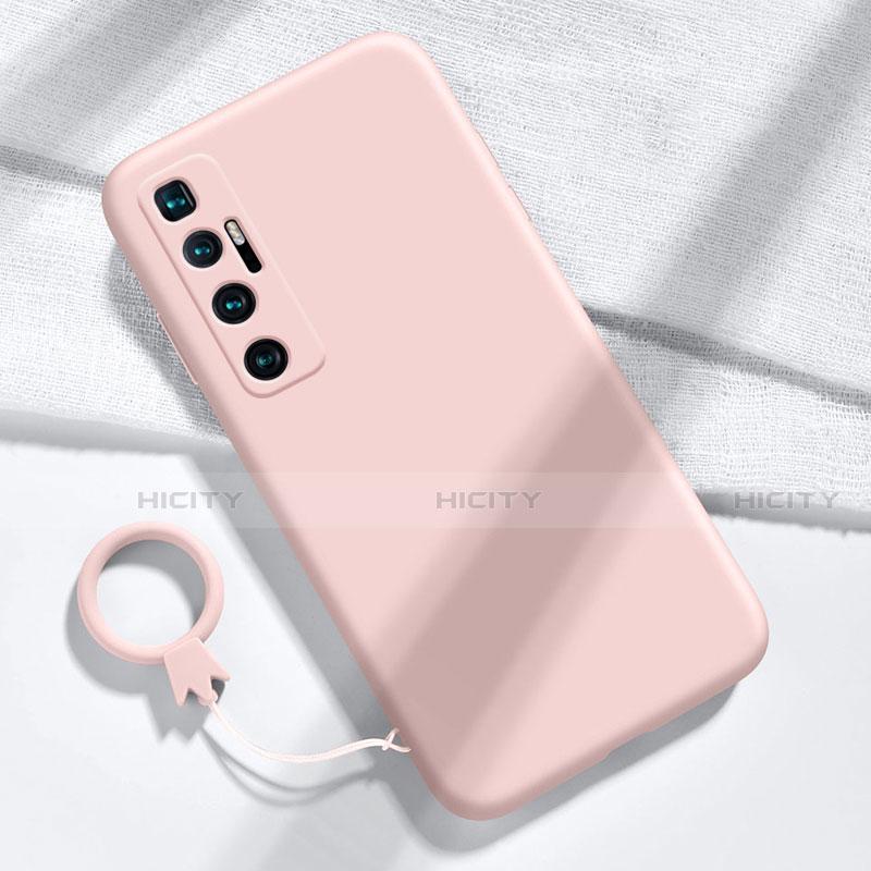 Custodia Silicone Ultra Sottile Morbida 360 Gradi Cover per Xiaomi Mi 10 Ultra Rosa