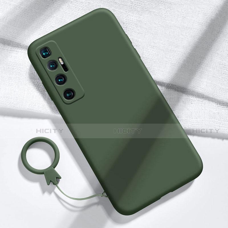 Custodia Silicone Ultra Sottile Morbida 360 Gradi Cover per Xiaomi Mi 10 Ultra Verde Notte