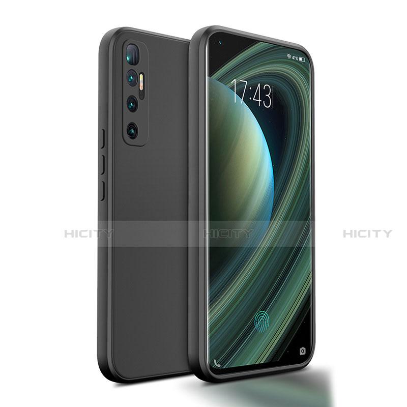 Custodia Silicone Ultra Sottile Morbida 360 Gradi Cover S01 per Xiaomi Mi 10 Ultra Nero