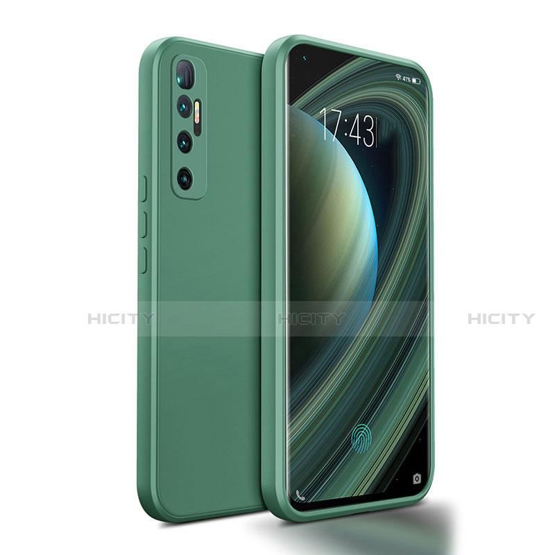 Custodia Silicone Ultra Sottile Morbida 360 Gradi Cover S01 per Xiaomi Mi 10 Ultra Verde Notte