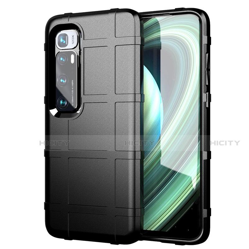 Custodia Silicone Ultra Sottile Morbida 360 Gradi Cover S05 per Xiaomi Mi 10 Ultra Nero