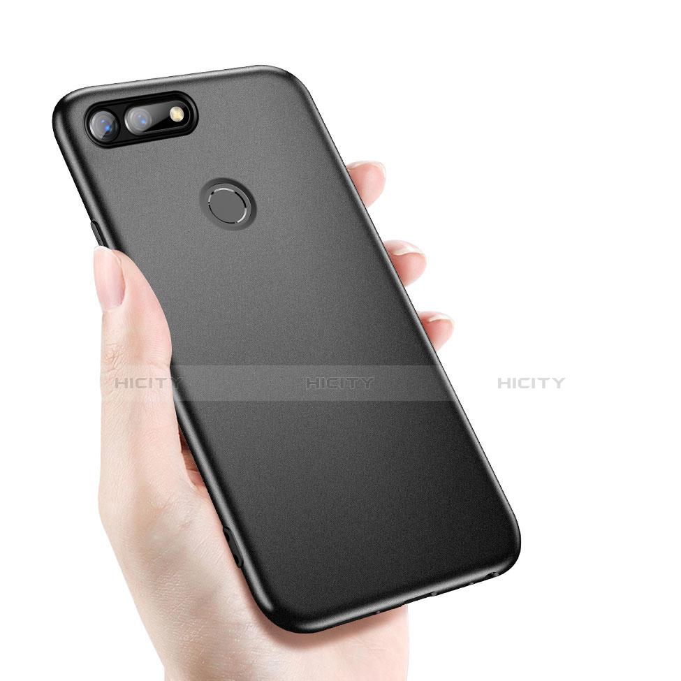 Custodia Silicone Ultra Sottile Morbida per Huawei Honor V20 Nero