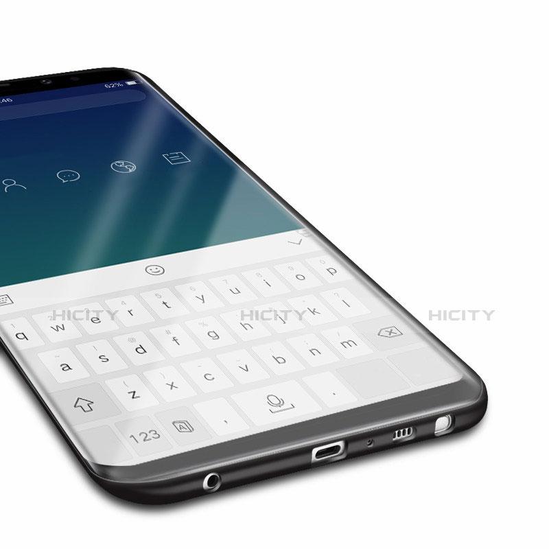 Custodia Silicone Ultra Sottile Morbida per Samsung Galaxy Note 9 Nero