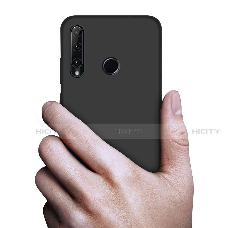 Custodia Silicone Ultra Sottile Morbida S02 per Huawei Honor 20 Lite Nero