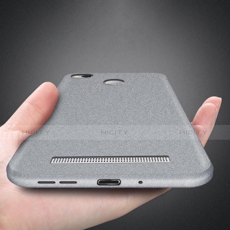 Custodia Silicone Ultra Sottile Morbida S02 per Xiaomi Redmi 3 Pro Grigio