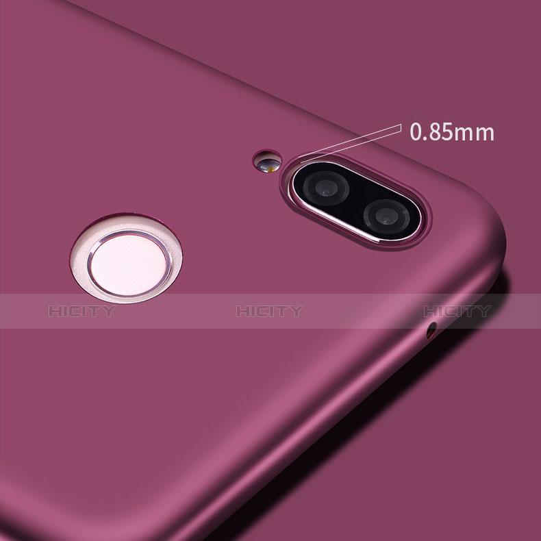 Custodia Silicone Ultra Sottile Morbida S03 per Huawei P20 Lite Viola