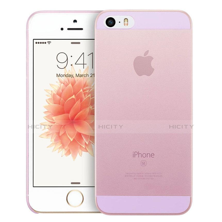 Custodia Ultra Sottile Trasparente Rigida Opaca per Apple iPhone ...
