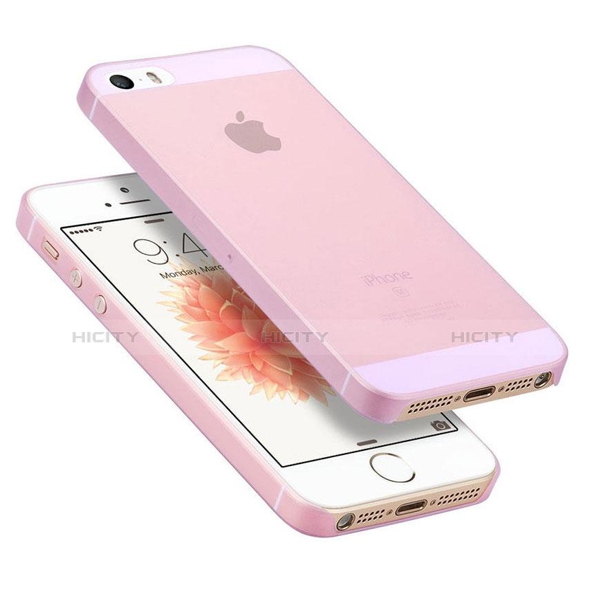 Custodia Ultra Sottile Trasparente Rigida Opaca per Apple iPhone 8