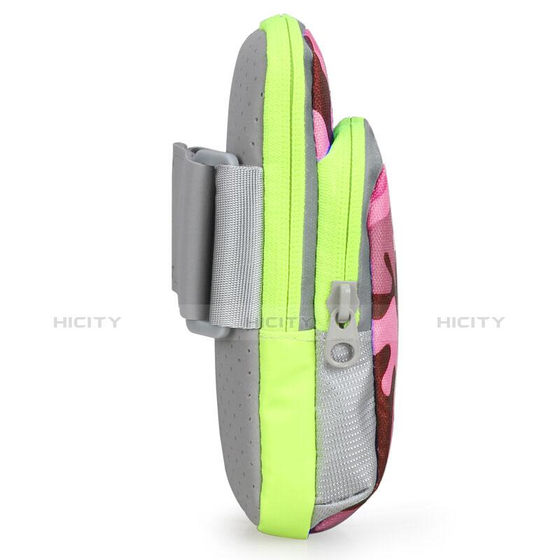 Fascia da Braccio Custodia Armband Corsa Sportiva B23 Rosa Caldo