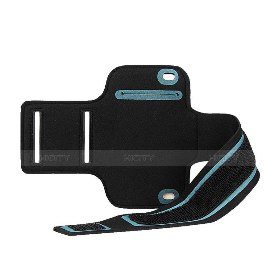 Fascia da Braccio Custodia Armband Corsa Sportiva Universale B02 Nero