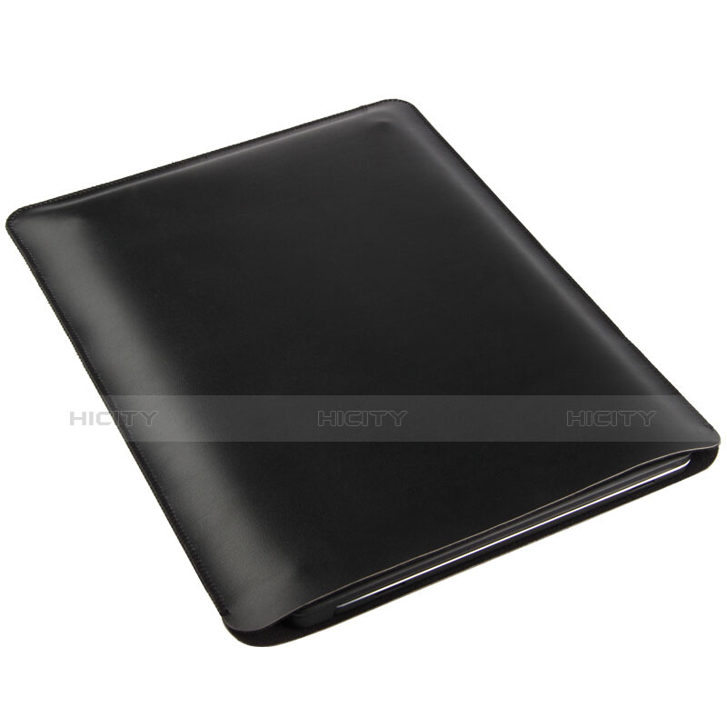 Morbido Pelle Custodia Marsupio Tasca per Apple iPad 4 Nero