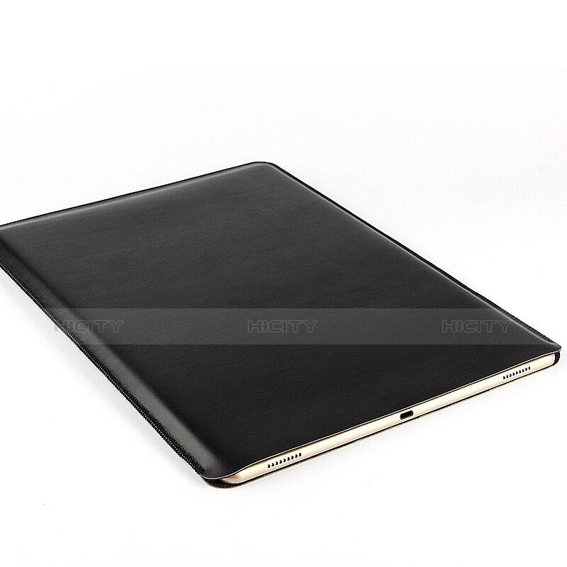Morbido Pelle Custodia Marsupio Tasca per Microsoft Surface Pro 3 Nero