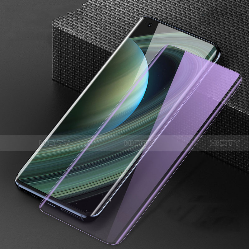 Pellicola in Vetro Temperato Protettiva Integrale Anti Blu-Ray Proteggi Schermo Film F02 per Xiaomi Mi 10 Ultra Nero
