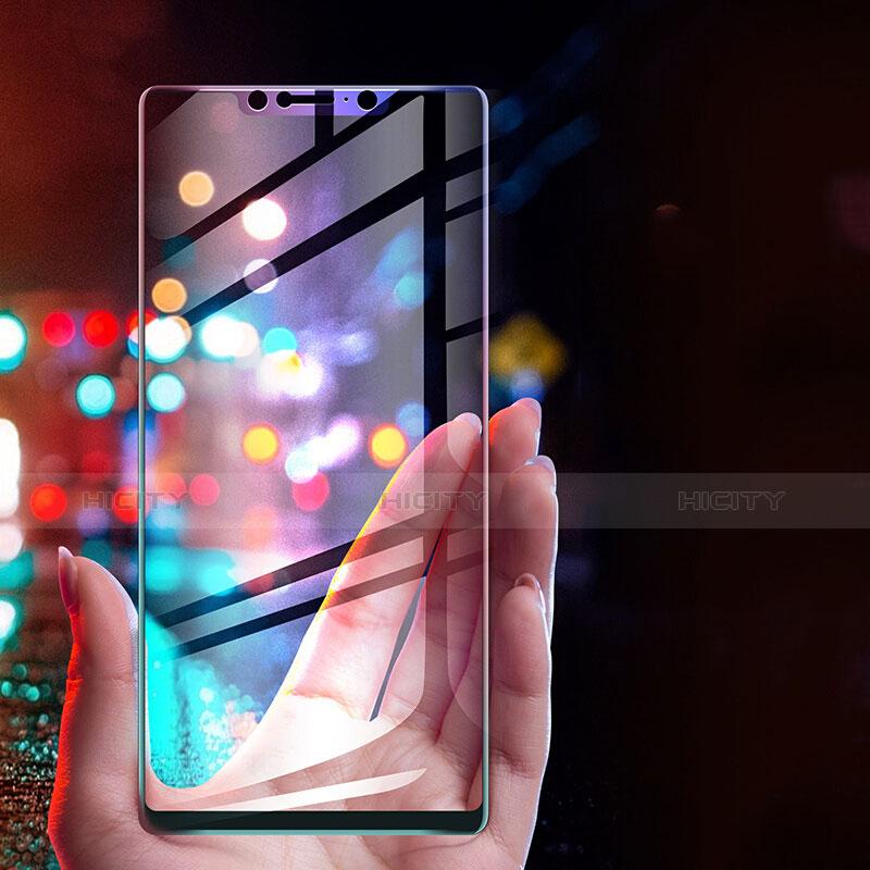 Pellicola in Vetro Temperato Protettiva Integrale Proteggi Schermo Film F03 per Xiaomi Mi 8 Pro Global Version Nero