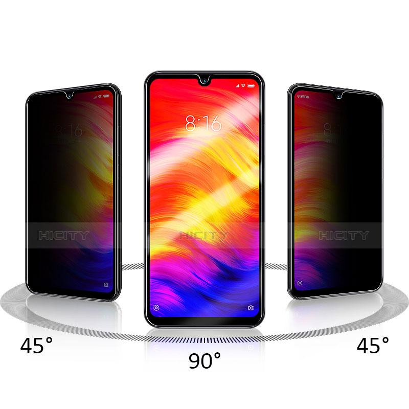 Pellicola in Vetro Temperato Protettiva Integrale Proteggi Schermo Film F03 per Xiaomi Redmi Note 7 Nero