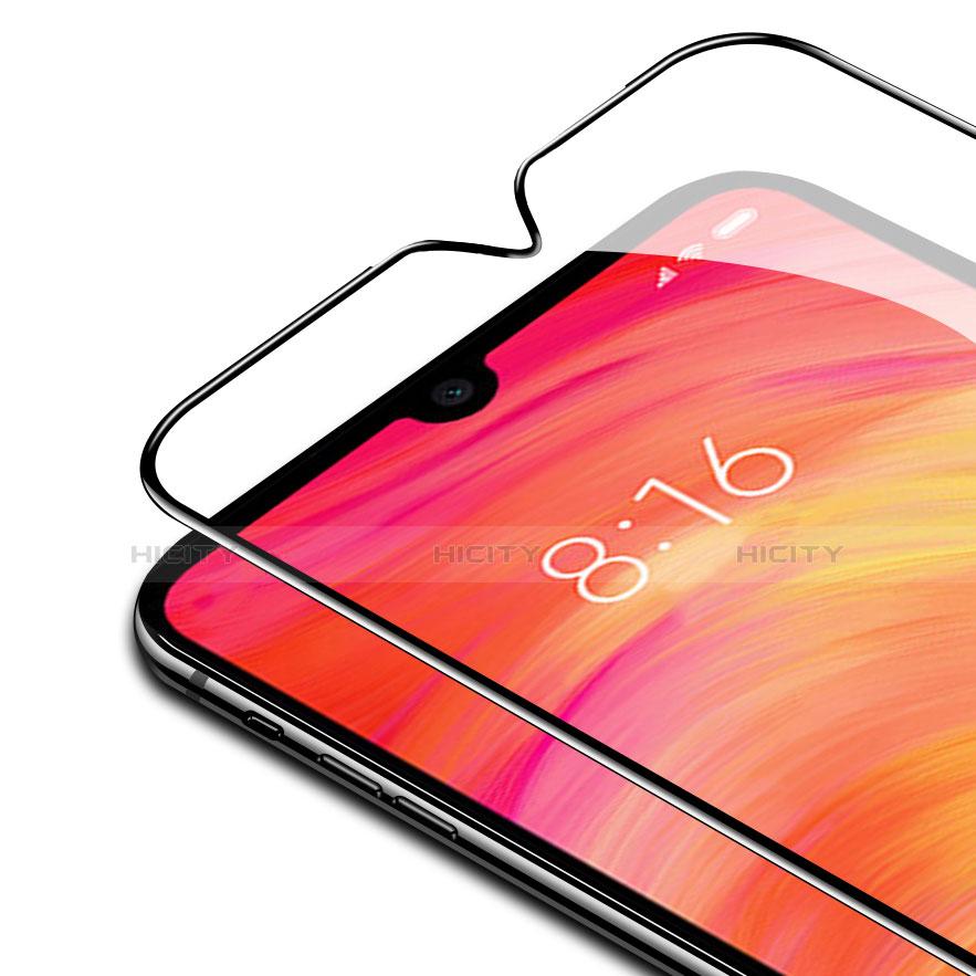 Pellicola in Vetro Temperato Protettiva Integrale Proteggi Schermo Film F04 per Xiaomi Redmi Note 7 Nero