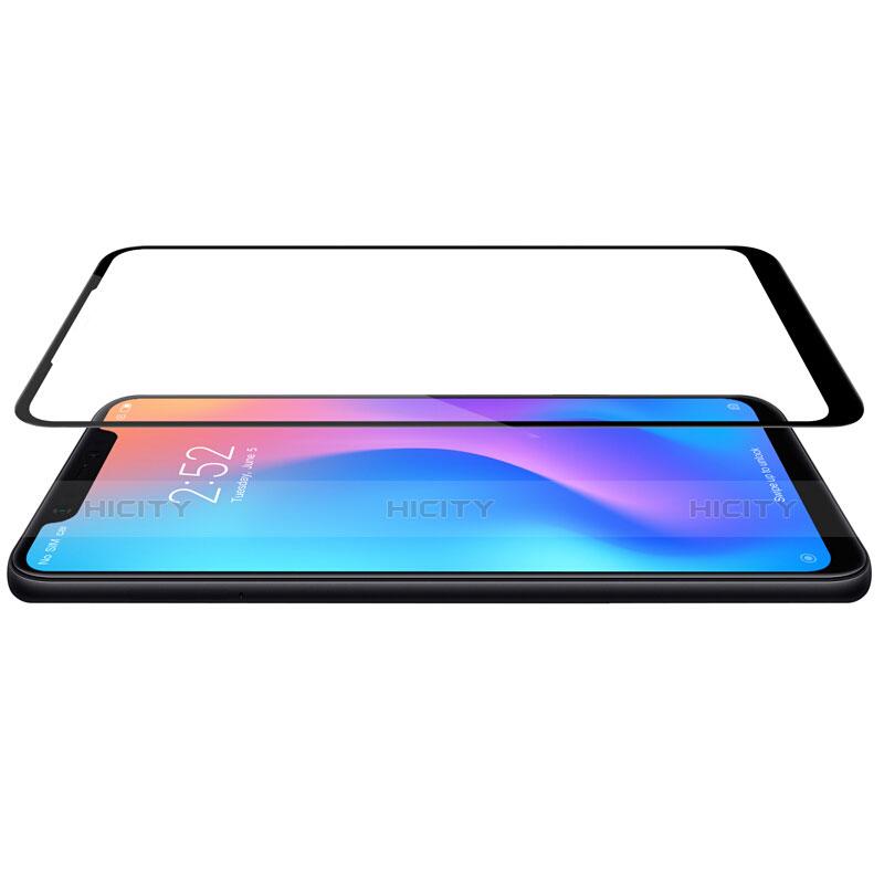 Pellicola in Vetro Temperato Protettiva Integrale Proteggi Schermo Film F05 per Xiaomi Mi 8 Pro Global Version Nero