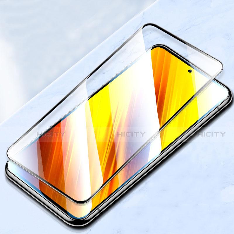 Pellicola in Vetro Temperato Protettiva Integrale Proteggi Schermo Film per Xiaomi Poco X3 NFC Nero