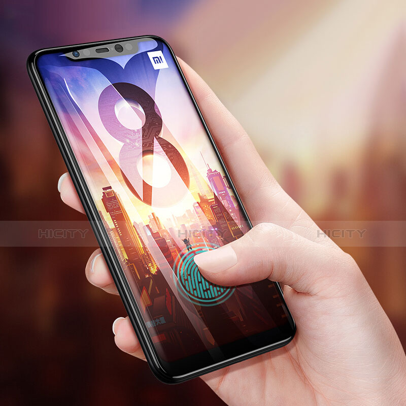 Pellicola in Vetro Temperato Protettiva Proteggi Schermo Film T03 per Xiaomi Mi 8 Pro Global Version Chiaro