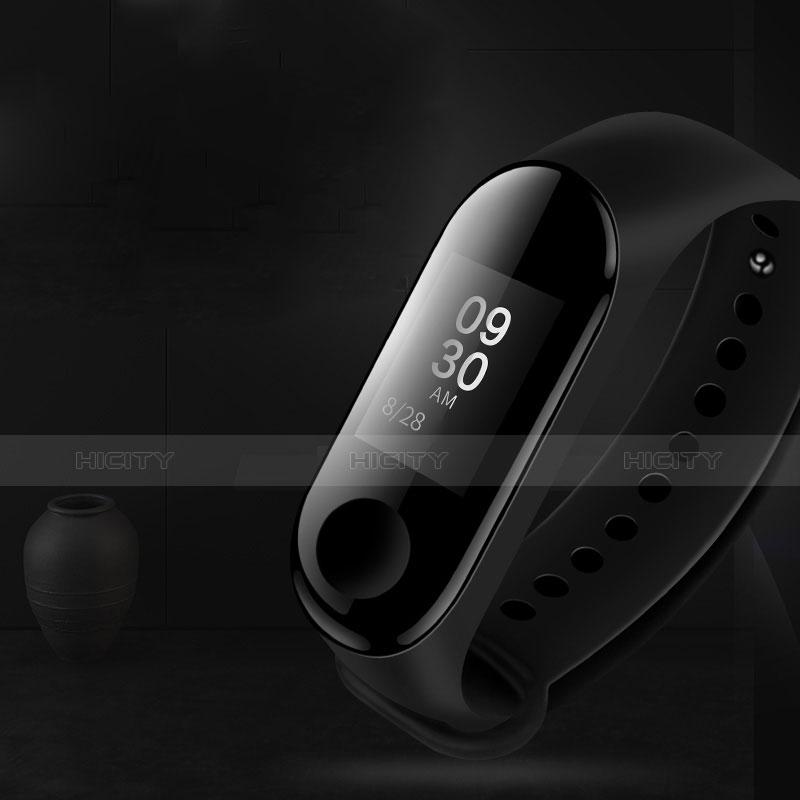 Pellicola in Vetro Temperato Protettiva Proteggi Schermo Film T04 per Xiaomi Mi Band 3 Chiaro