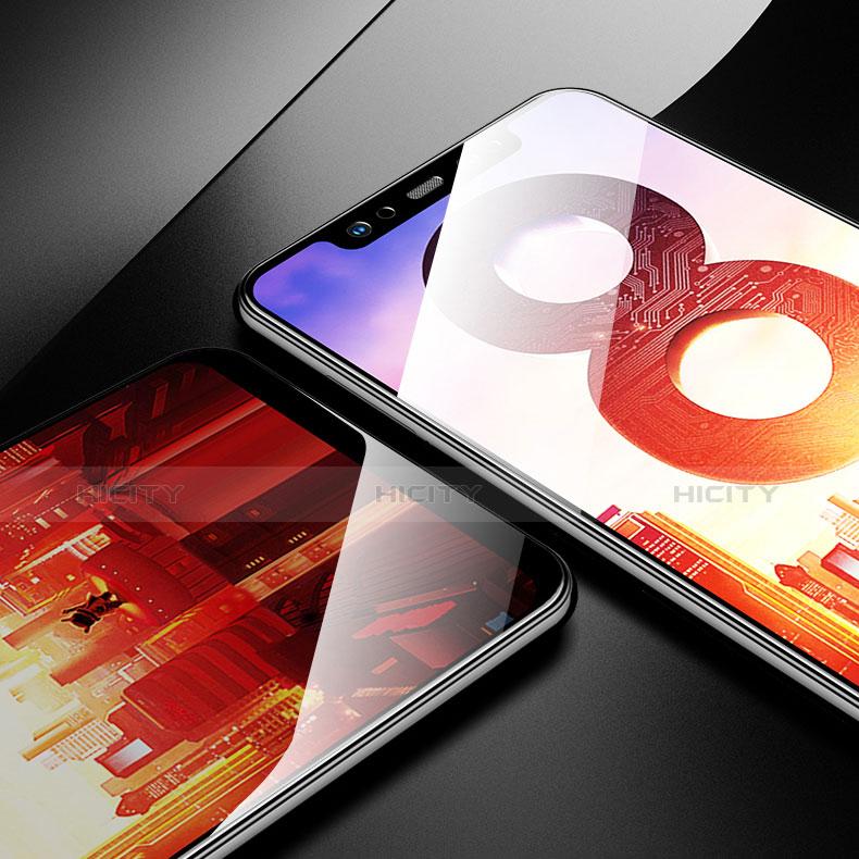 Pellicola in Vetro Temperato Protettiva Proteggi Schermo Film T05 per Xiaomi Mi 8 Pro Global Version Chiaro