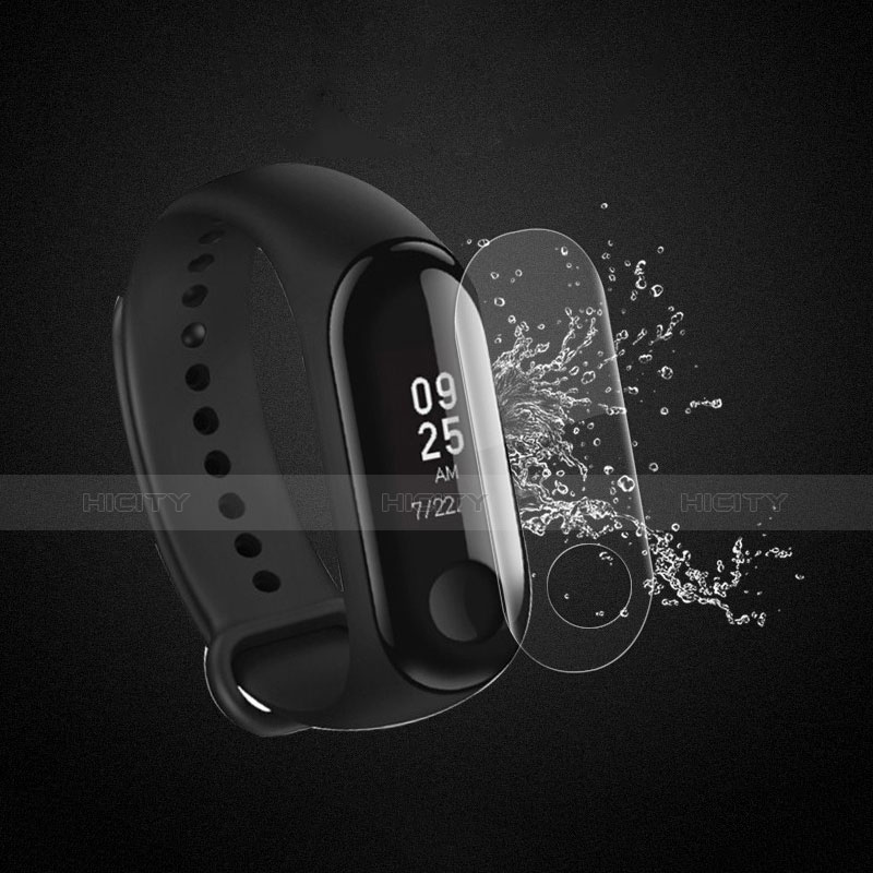 Pellicola in Vetro Temperato Protettiva Proteggi Schermo Film T05 per Xiaomi Mi Band 3 Chiaro
