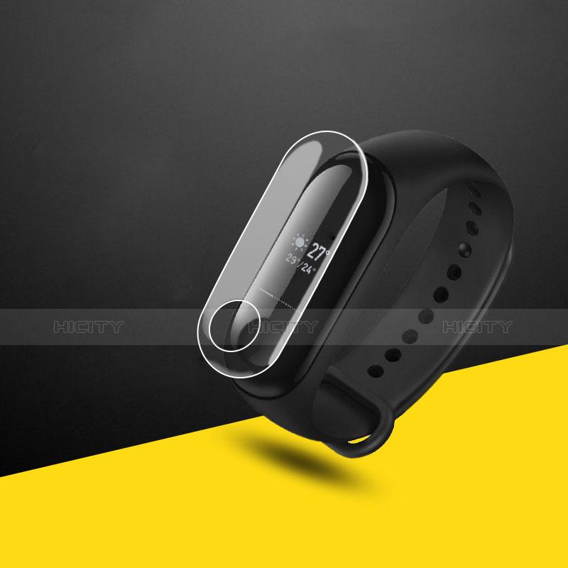 Pellicola in Vetro Temperato Protettiva Proteggi Schermo Film T06 per Xiaomi Mi Band 3 Chiaro