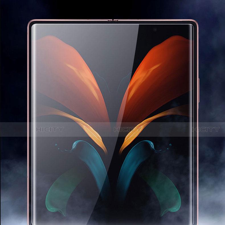 Pellicola Protettiva Fronte e Retro Proteggi Schermo Film per Samsung Galaxy Z Fold2 5G Chiaro