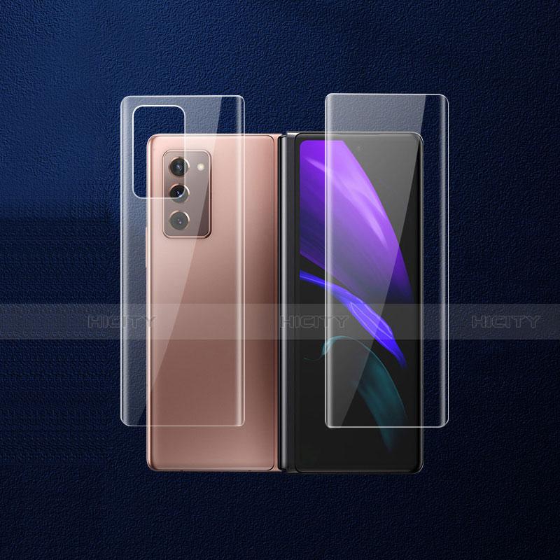 Pellicola Protettiva Retro Proteggi Schermo Film B02 per Samsung Galaxy Z Fold2 5G Chiaro