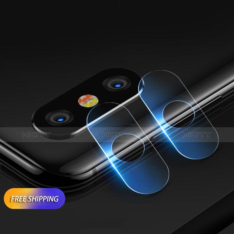 Protettiva della Fotocamera Vetro Temperato per Xiaomi Mi Mix 3 Chiaro
