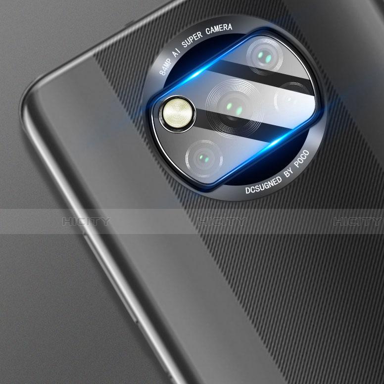 Protettiva della Fotocamera Vetro Temperato Proteggi Schermo per Xiaomi Poco X3 NFC Chiaro