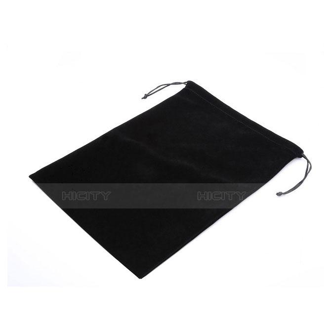 Sacchetto in Velluto Custodia Marsupio Tasca per Samsung Galaxy Tab S2 9.7 SM-T810 SM-T815 Nero