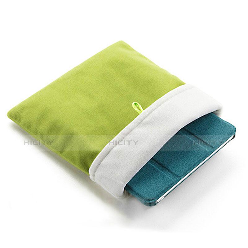 Sacchetto in Velluto Custodia Tasca Marsupio per Apple iPad Mini 3 Verde