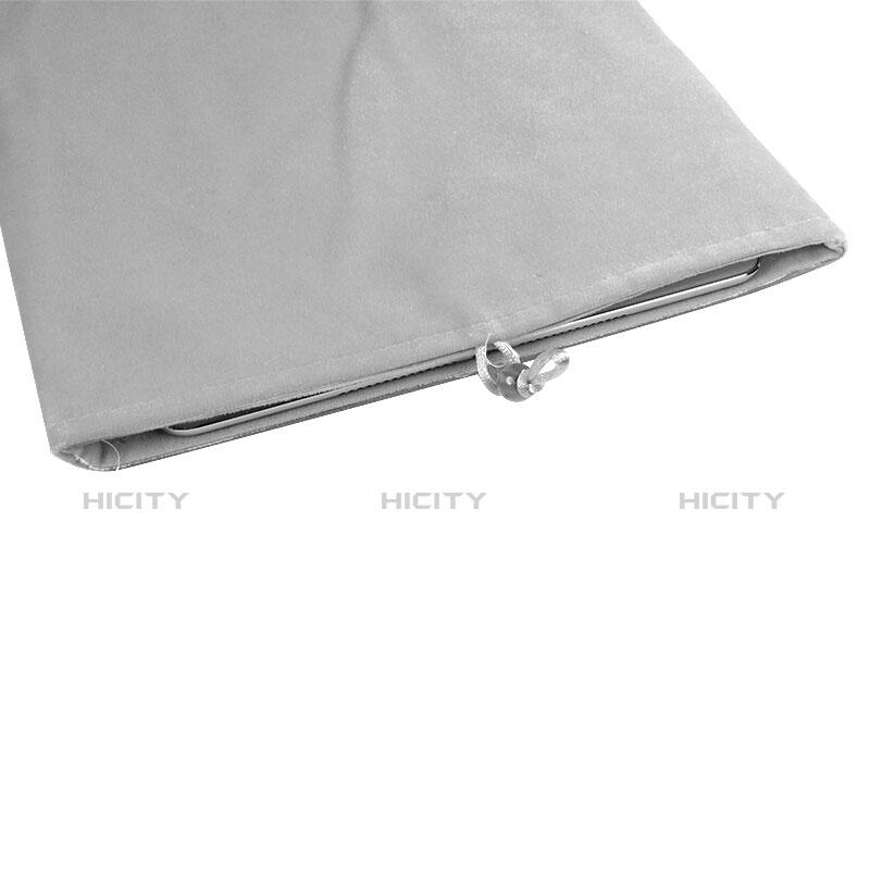 Sacchetto in Velluto Custodia Tasca Marsupio per Apple iPad Pro 12.9 (2017) Bianco