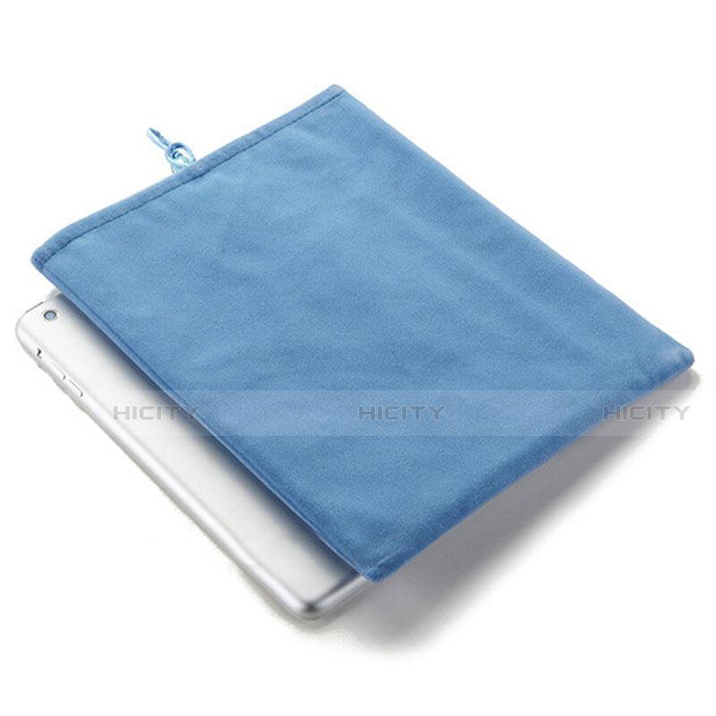 Sacchetto in Velluto Custodia Tasca Marsupio per Samsung Galaxy Tab S2 9.7 SM-T810 SM-T815 Cielo Blu