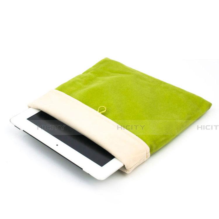 Sacchetto in Velluto Custodia Tasca Marsupio per Samsung Galaxy Tab S2 9.7 SM-T810 SM-T815 Verde