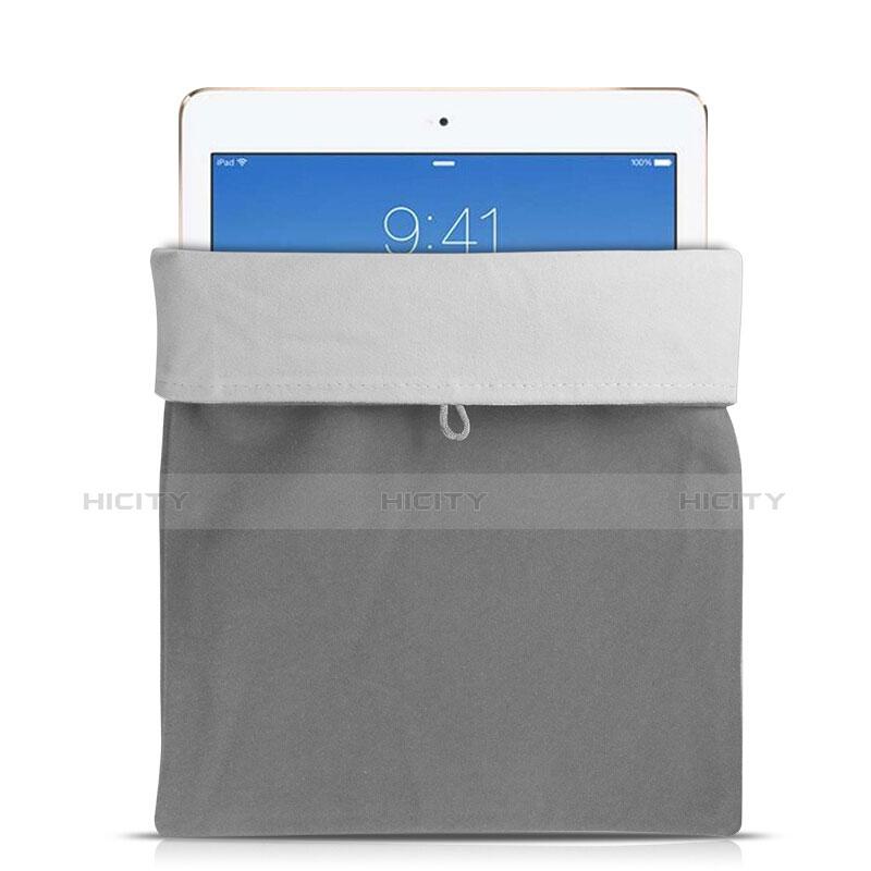 Sacchetto in Velluto Custodia Tasca Marsupio per Xiaomi Mi Pad 2 Grigio