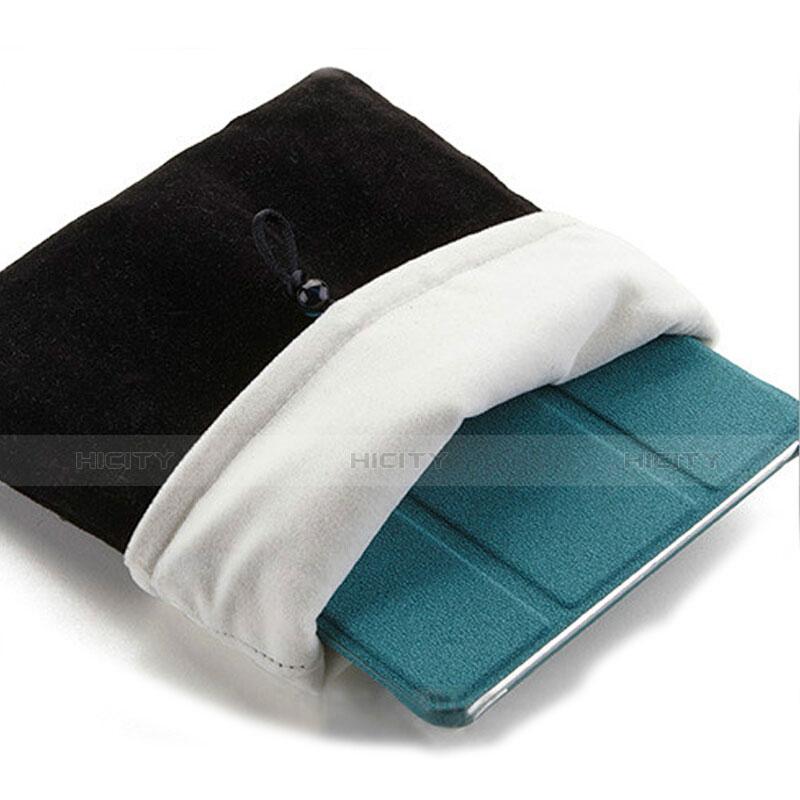 Sacchetto in Velluto Custodia Tasca Marsupio per Xiaomi Mi Pad 4 Plus 10.1 Nero