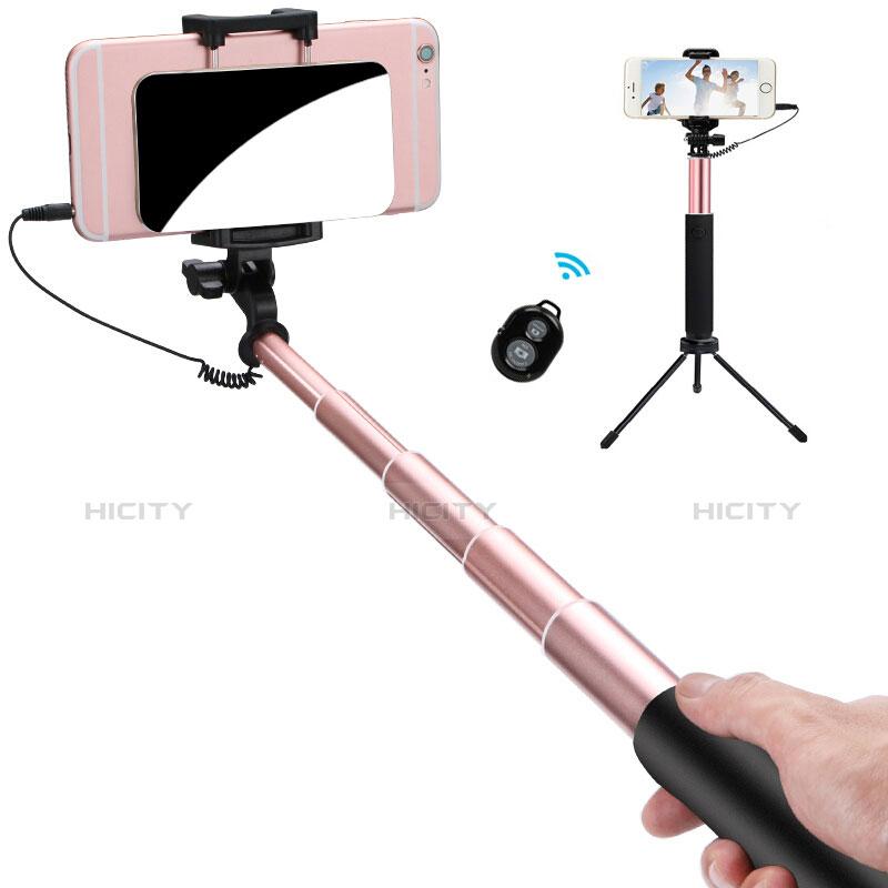 Sostegnotile Bluetooth Selfie Stick Allungabile Bastone Selfie Universale S15 Oro