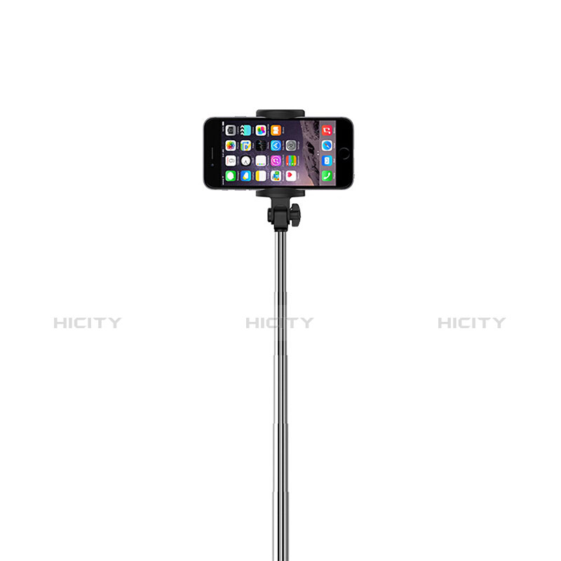 Sostegnotile Bluetooth Selfie Stick Allungabile Bastone Selfie Universale S24 Nero