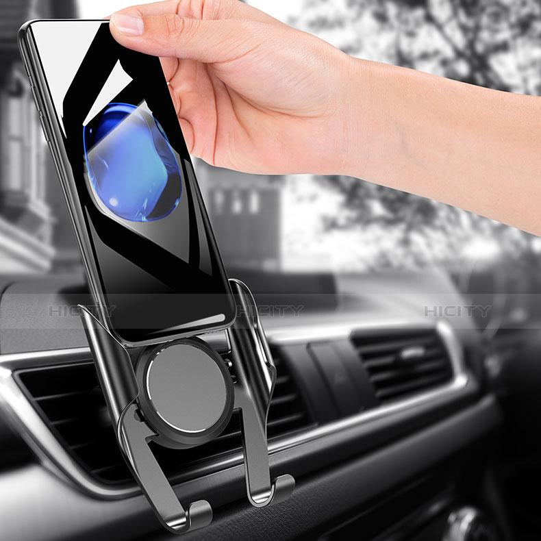 Supporto Cellulare Da Auto Bocchette Aria Universale A06 Nero